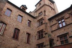 Cour, Maison de Benoit, Rodez ( France ) Royalty Free Stock Image