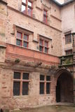 Cour, Maison de Benoit, Rodez ( France ) Royalty Free Stock Photography