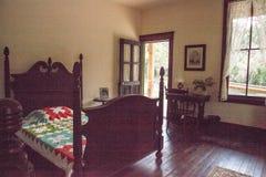 1904 cour planétaire, Evelyn Trickett Bubbett Room au parc d'état historique de Koreshan image stock