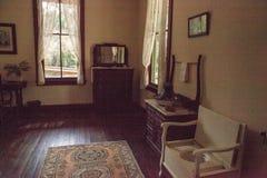 1904 cour planétaire, Evelyn Trickett Bubbett Room au parc d'état historique de Koreshan photos libres de droits