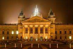 Cour Suprême de Leipzig photo stock