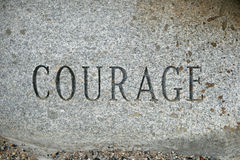 Courage Photo stock