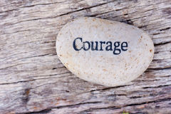 Courage stock photos