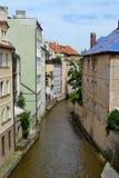 Courant à Prague Image libre de droits