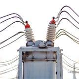 Courant électrique à haute tension Photographie stock libre de droits