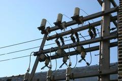 Courant électrique photographie stock libre de droits
