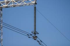 Courant électrique Images stock