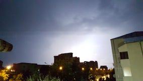 courant électrique de ciel Photos libres de droits