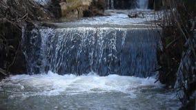 Courant d'eau dans le courant après la pluie en premier ressort clips vidéos