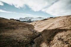 Courant dans les montagnes Images libres de droits