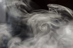 Courant de fumée Photo libre de droits