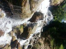 Courant de l'eau au Cachemire Photo stock