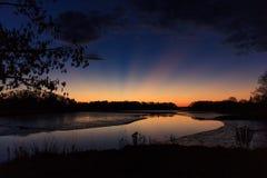 Courant de Stroudwater Image stock
