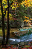 Courant en parc national de Karkonosze Images stock