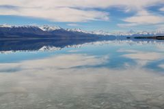 Courant folklorique, Nouvelle Zélande Photos stock