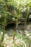 Courant souterrain de caverne Photographie stock