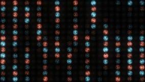Courants débordants de lumière clips vidéos