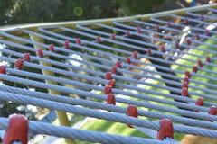 Courbe avec des cordes Images stock