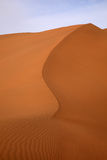 courbe de désert Photos stock