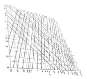 courbe le concept de tableau de données d'isolement, Illustration de Vecteur