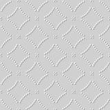 courbe ronde Dot Cross Line d'art du livre blanc 3D Image stock