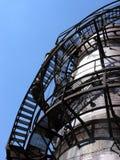 Courber des escaliers Images libres de droits