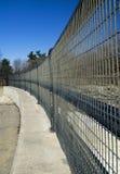 Courber la frontière de sécurité Photo libre de droits