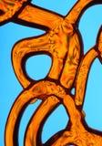 Courbes abstraites colorées Photos libres de droits
