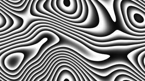 Courbes abstraites - lignes paramétriques et formes incurvées 4k sans couture illustration de vecteur