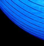 Courbes allumées bleues Photos libres de droits