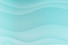 Courbes apaisantes apaisantes bleues illustration libre de droits