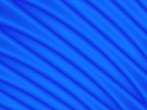 Courbes bleues Photo stock