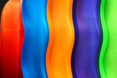 Courbes colorées Photo libre de droits