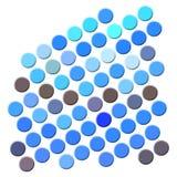 Courbes colorées Image stock