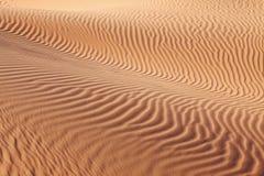 Courbes compliquées des ondes de sable Photos libres de droits