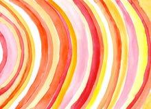 Courbes d'aquarelle Image stock