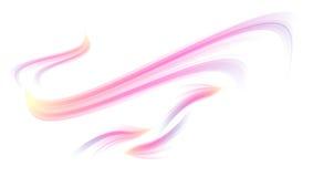 Courbes de couleur Image libre de droits