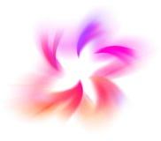 Courbes de couleur Images libres de droits