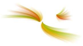 Courbes de couleur illustration de vecteur