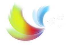 Courbes de couleur Photos libres de droits