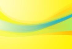 Courbes de couleur en pastel illustration stock