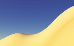 Courbes de désert images libres de droits