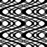 Courbes noires et blanches Photos stock