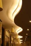 Courbes sur le plafond Image stock