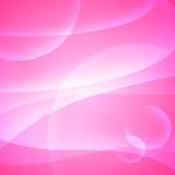Courbes sur le rose illustration libre de droits