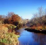Courbure de rivière de rhum - Minnesota Photos stock