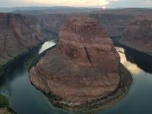 Courbure en fer à cheval Arizona photos libres de droits