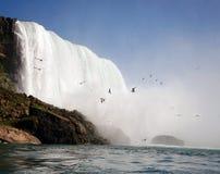 Courbure en fer à cheval, Niagara Falls Image stock
