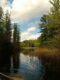 Courbure glorieuse de rivières de nature image libre de droits