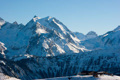 Courchevel Stock Photo